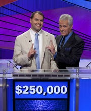 """Roger Craig, a 35-year-old computer scientist from Newark, Delaware, in 2011 won the prestigious """"Jeopardy!"""" Tournament of Champions, taking home a quarter million dollars in cash winnings."""