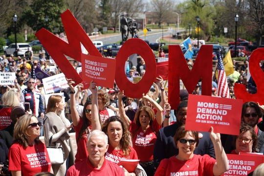 Lawmakers, advocates gathered outside Legislative Hall on Wednesday for a rally in support of common-sense legislation that will help reduce gun violence in Delaware.