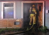 WFFD battles early morning fire