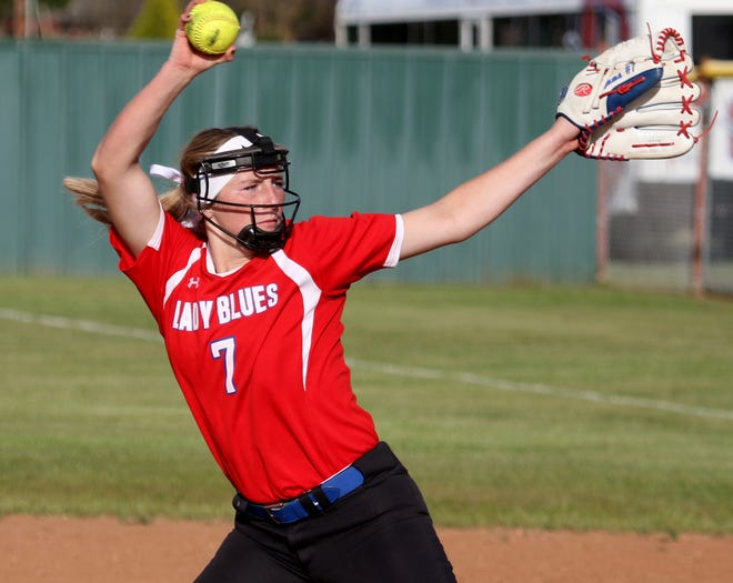 Graham's Emma Southerland was named the District 6-4A Most Valuable Player this season.