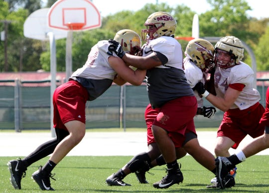 The Midwestern State football team will hold its annual Maroon and Gold spring game at 6 p.m. Saturday at Memorial Stadium.