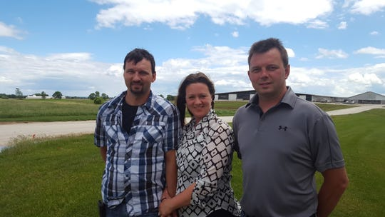 Augustian Farms LLC, of Kewaunee County, is owned and operated by Aaron, Todd and Ginanne Augustian.