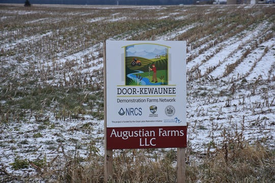 Augustian Farms LLC, is among demonstration farms incorporates sustainable agriculture technology in Kewaunee County.