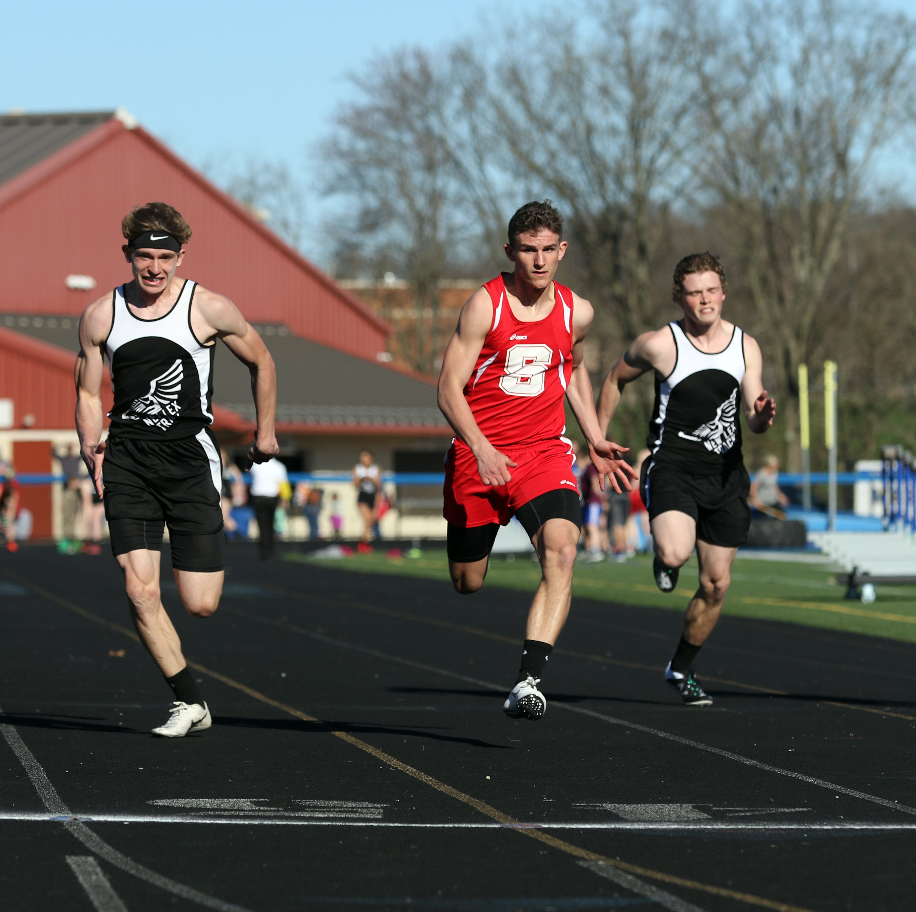 Sheridan boys, Maysville girls strong in tri-meets