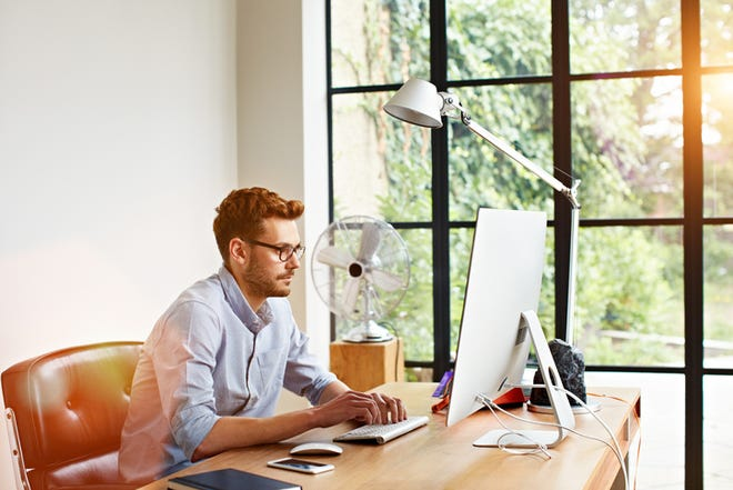 Working from home can increase productivity for many employees.