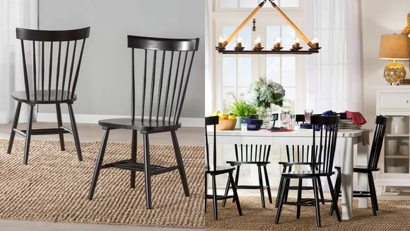 Sometimes, a classic wooden dining chair like these is the perfect fit.