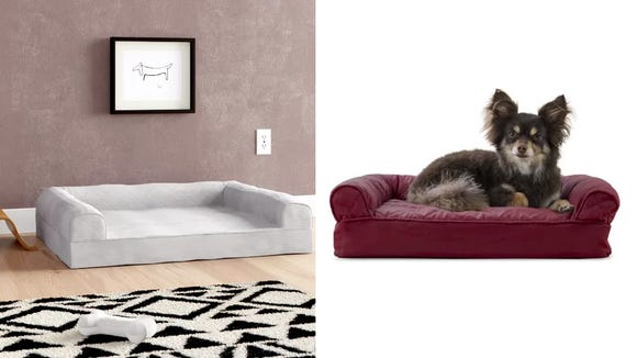 These dog beds come in five sizes for every dog to have their own space.