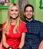 Tarek El Moussa and formerly Christina El Moussa on December 13, 2014 in Lakewood, California.
