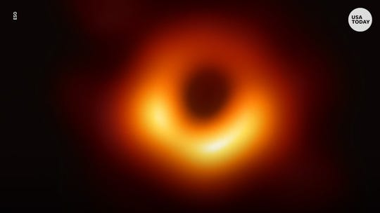 First-ever photo of a black hole revealed