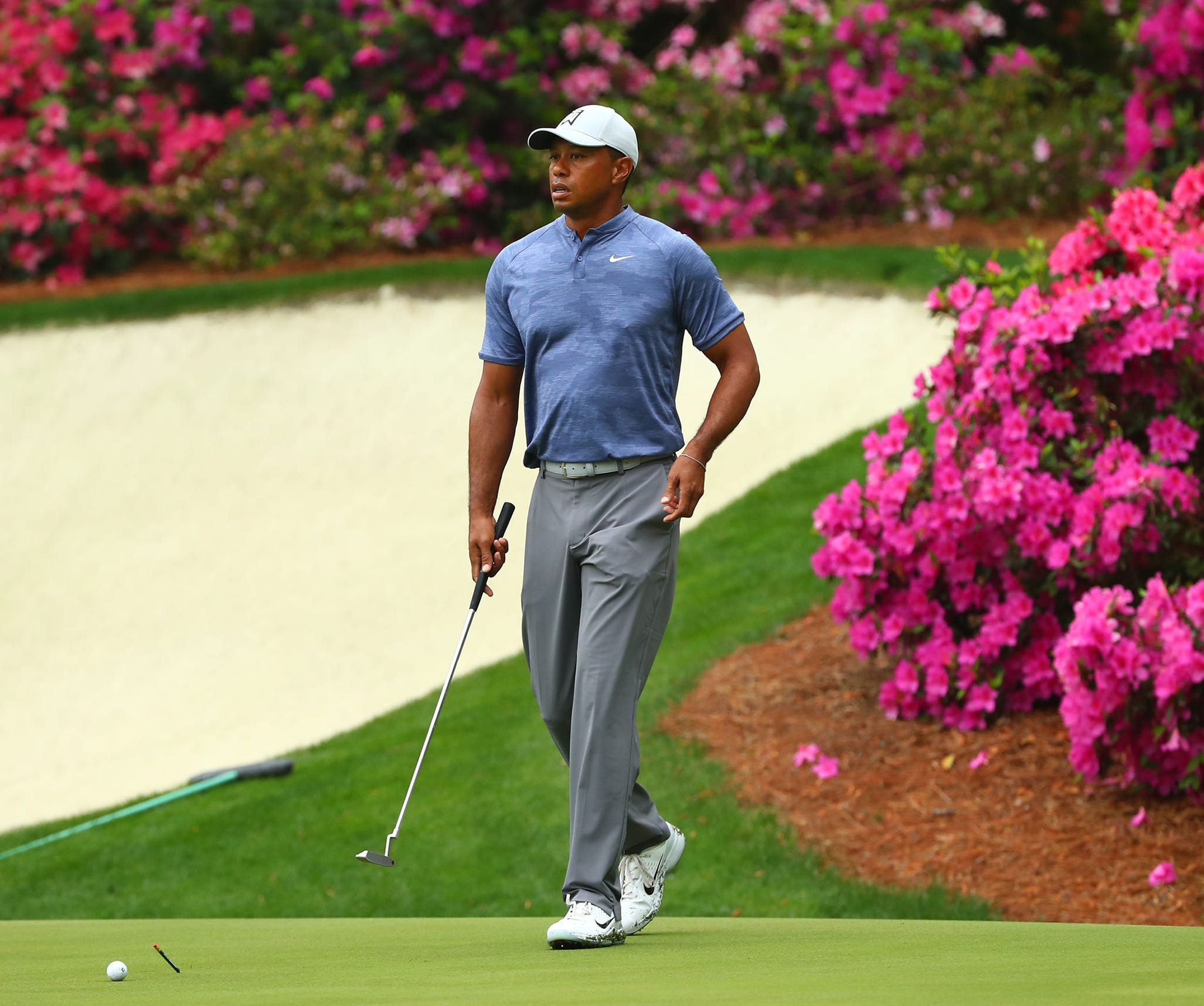 Tiger Woods is shooting for his fifth Masters win.