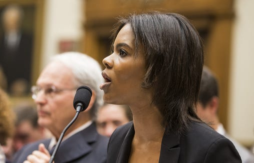 Candace Owens of Turning Point USA testifies during a House Judiciary Committee hearing discussing hate crimes and the rise of white nationalism on Capitol Hill on April 9, 2019 in Washington.