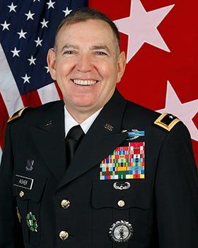Retired Brig. Gen. Robbie Asher, former adjutant general of Oklahoma National Guard
