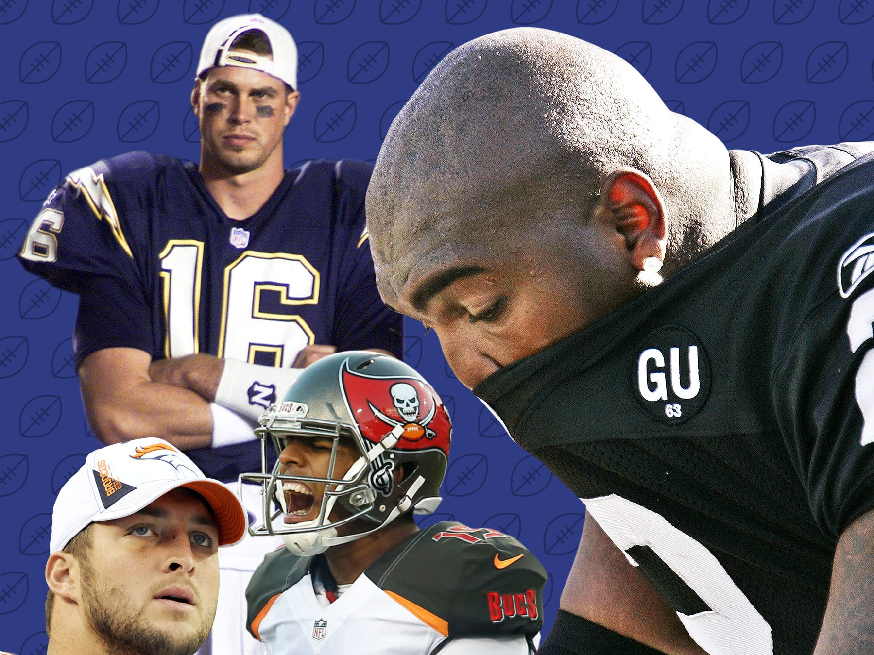 NFL draft's 100 biggest busts: Which picks, trades proved to be whiffs?