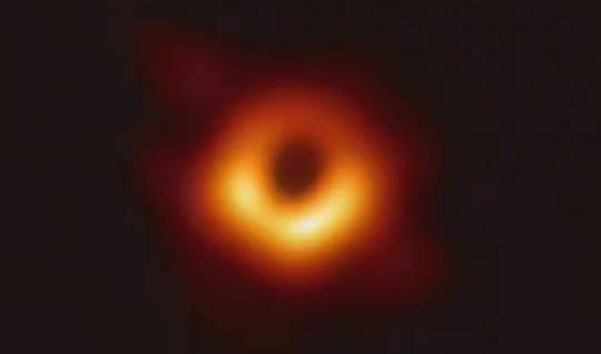 NSF screenshot of black hole
