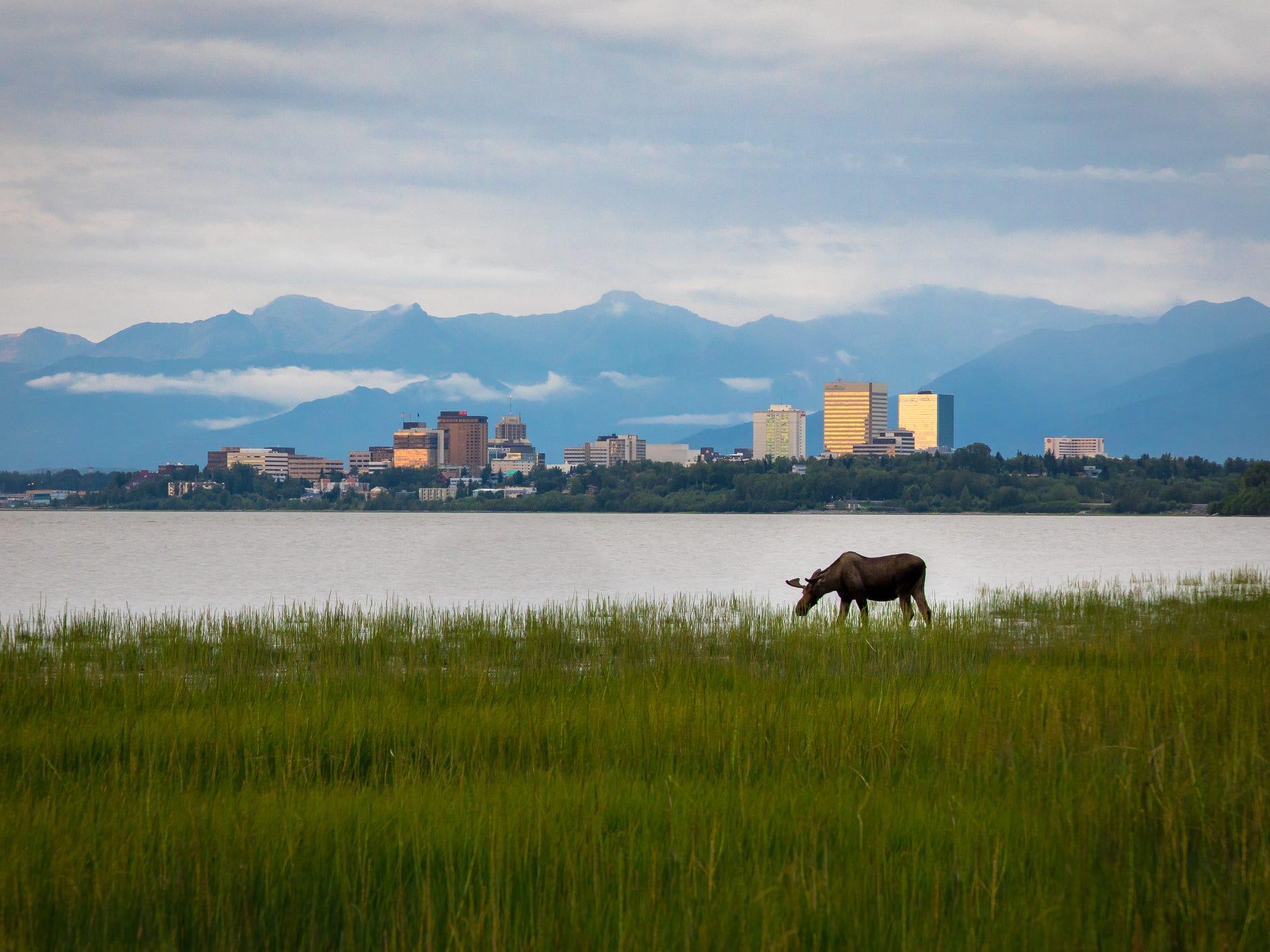 No. 8: Anchorage, Alaska.