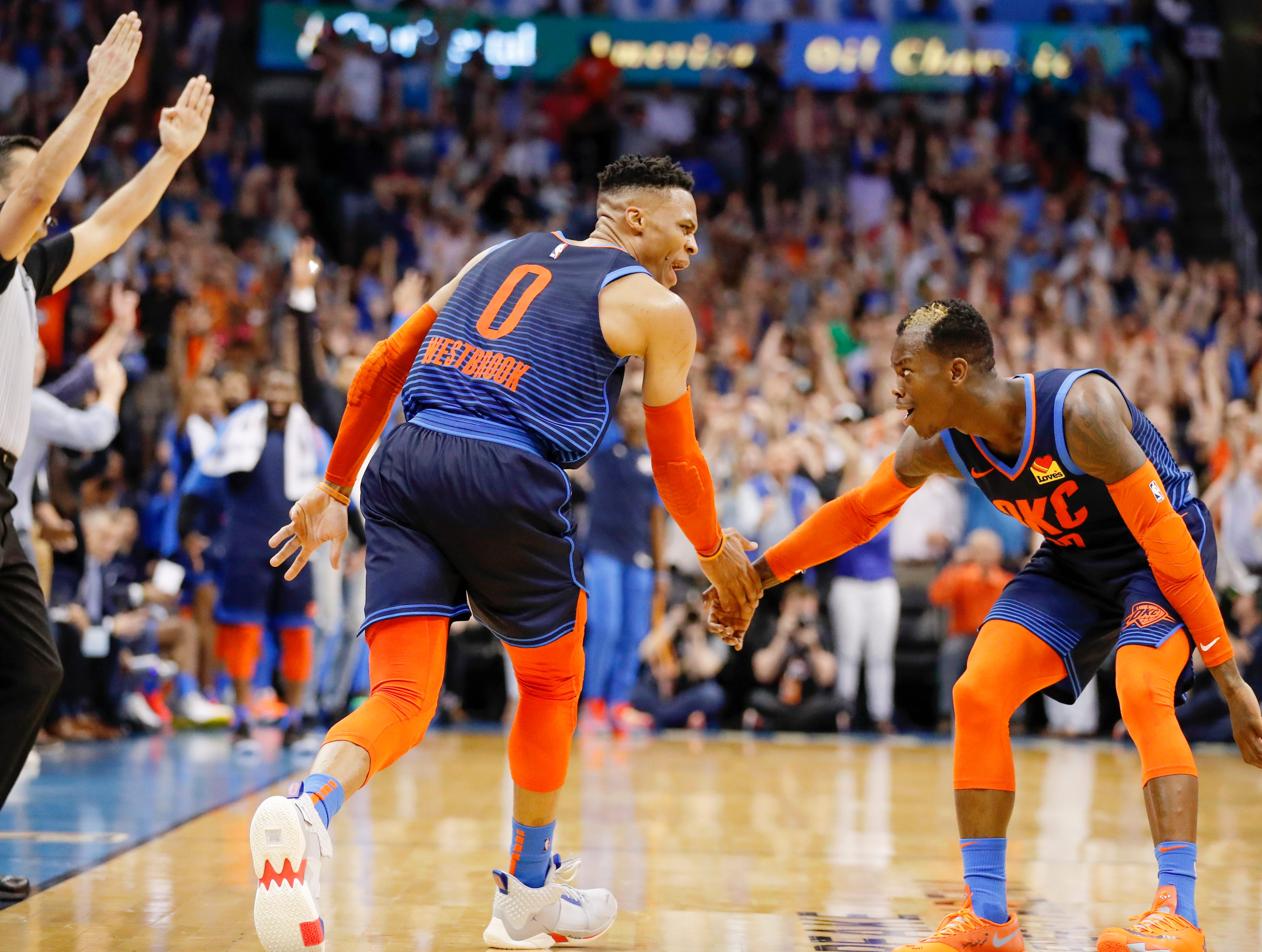 124. Russell Westbrook, Thunder (April 9): 29 points, 12 rebounds, 10 assists in 112-111 win over Rockets.