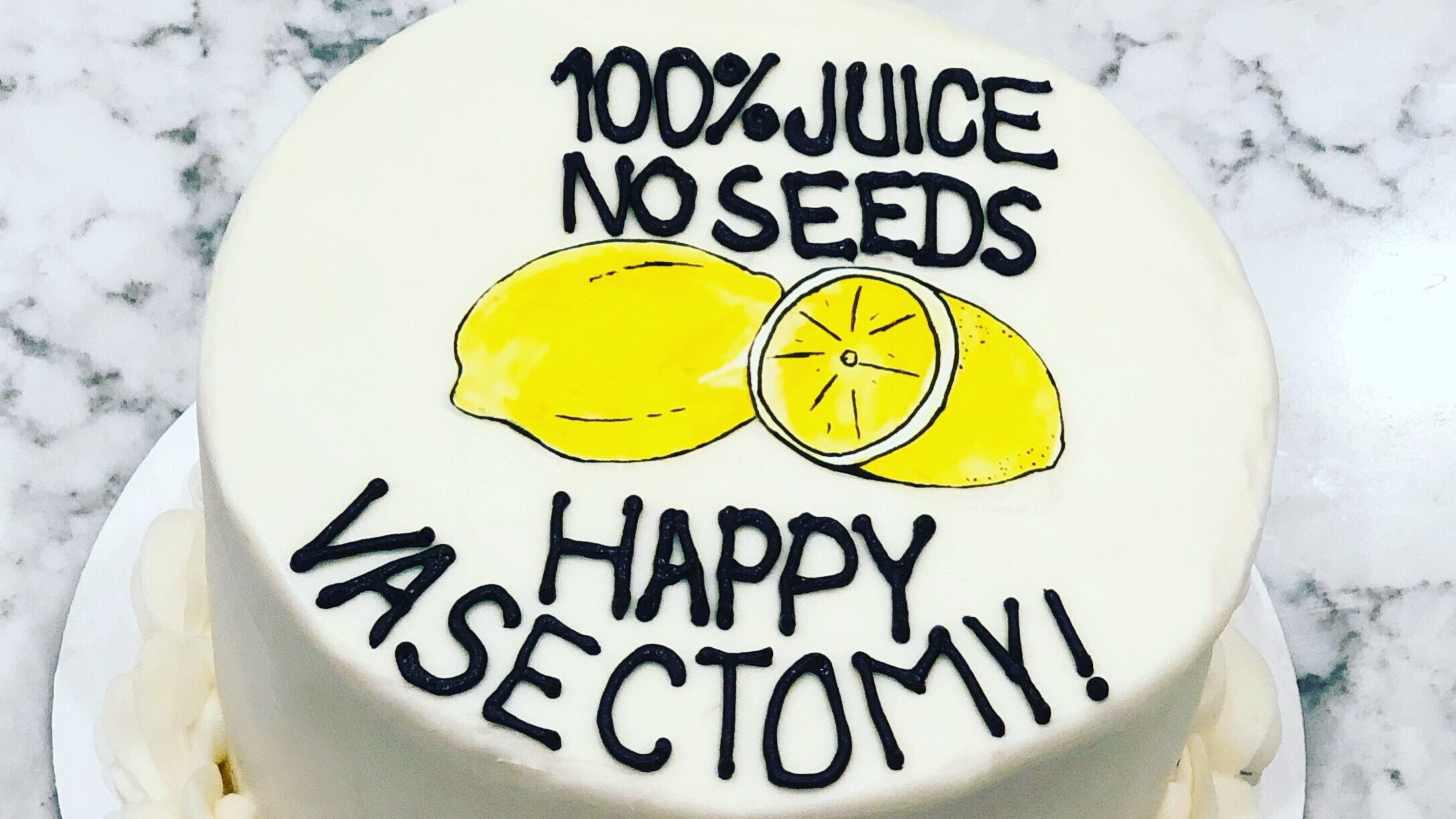 Vasectomy Cakes New Trend For Bakeries