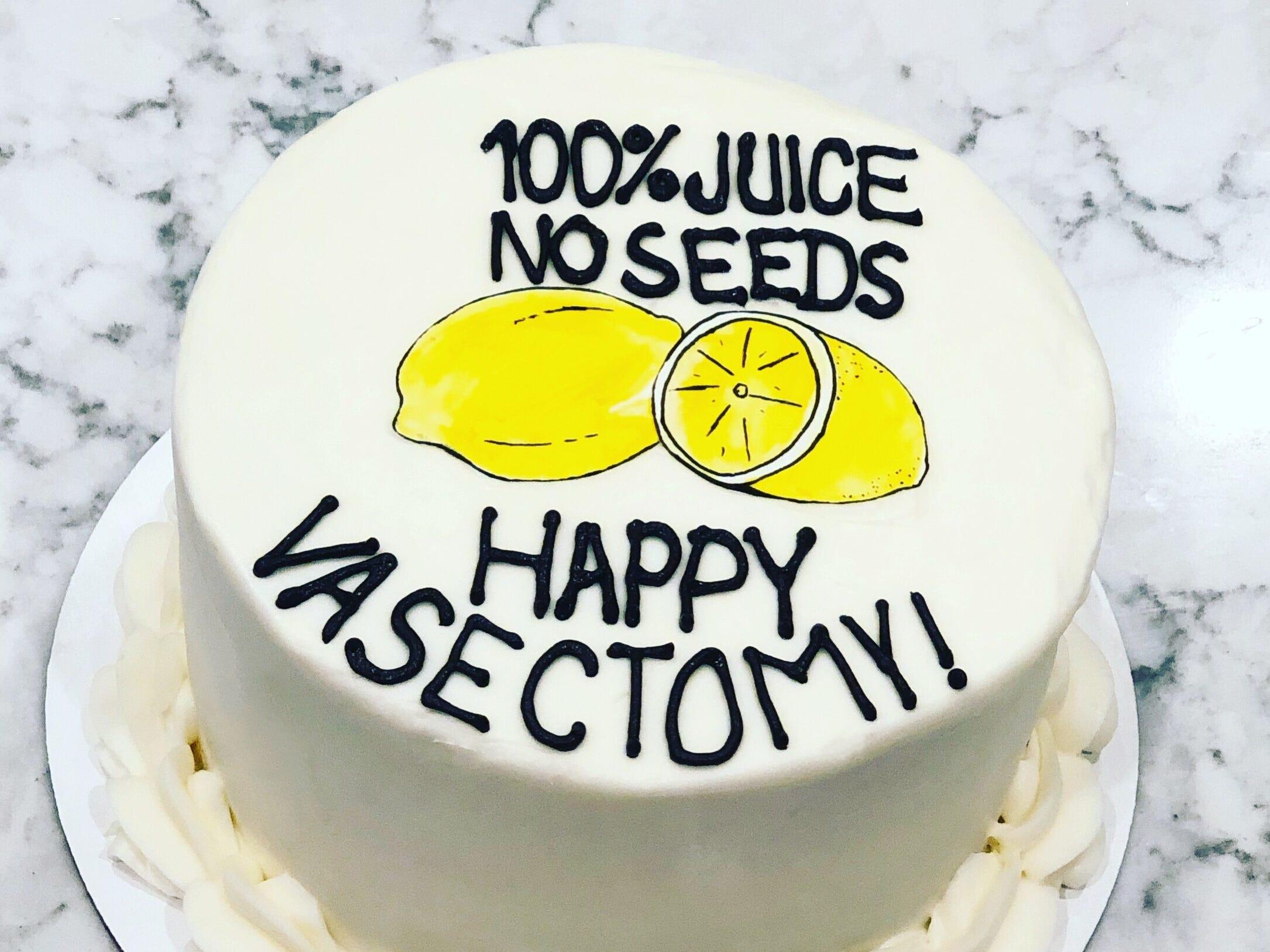 A photo of Nashville-based Signature Desserts' vasectomy cake went viral.