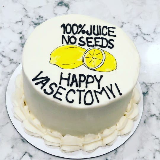 A photo of Nashville-based Signature Desserts' vasectomy cake went viral.