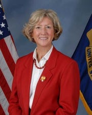 Jill Loftus, the former head of the U.S. Navy's Sexual Assault Prevention and Response Office.