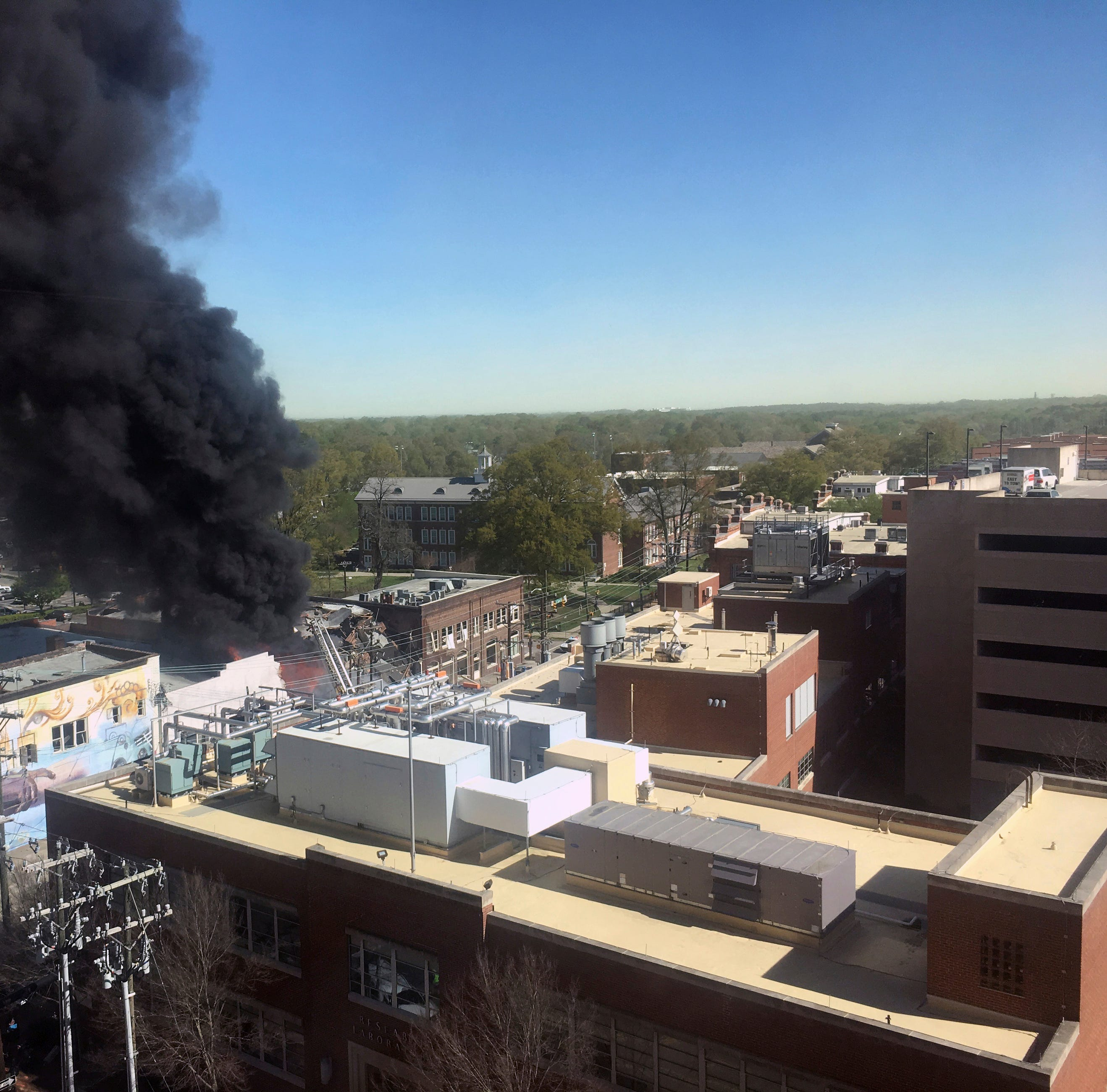 1 person killed, 17 injured in Durham, North Carolina, building explosion