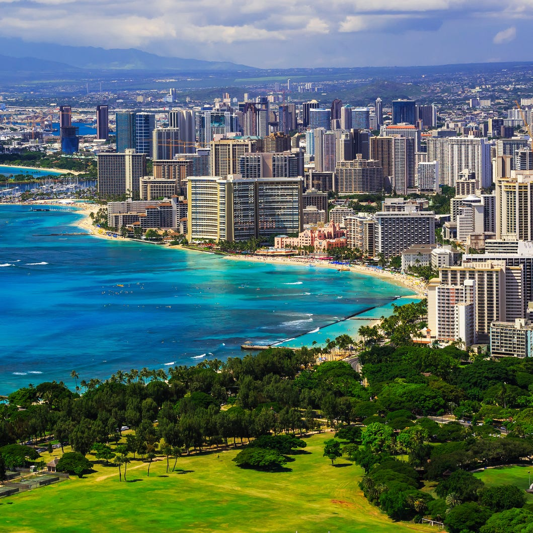 No. 9: Honolulu.