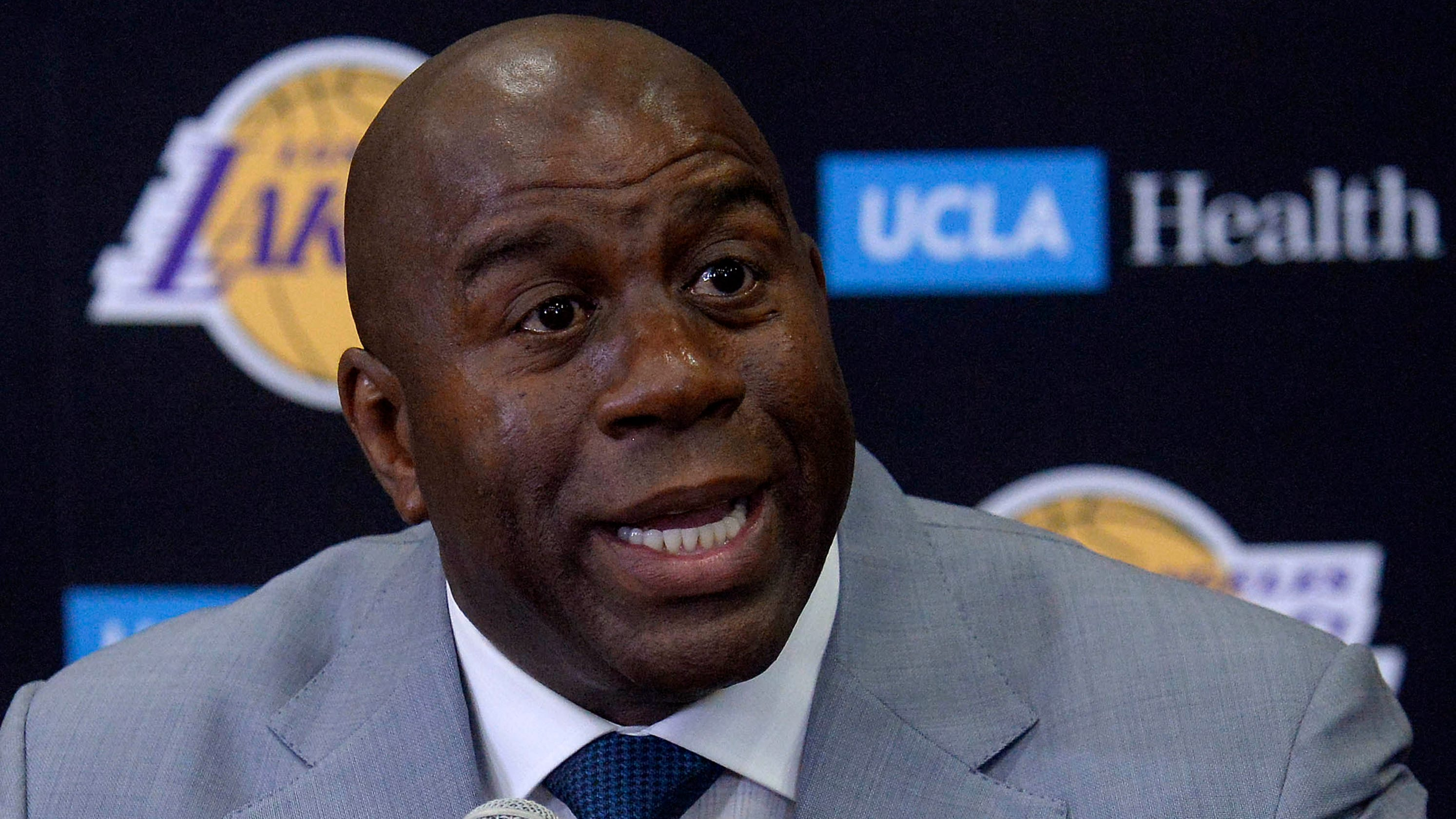 Magic Johnson Steps Down As LA-Lakers President
