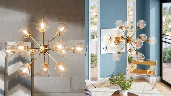 This chandelier will invite all the compliments and envy.