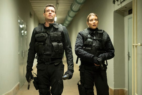 """An FBI agent (Scott Foley) and a CIA agent (Lauren Cohan) are paired up  in ABC's freshman spy dramedy """"Whiskey Cavalier,"""" a top early pick in USA TODAY's 22nd annual Save Our Shows poll."""