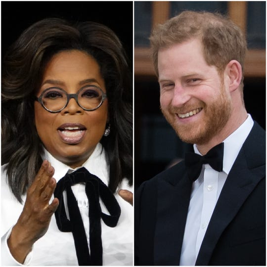 Oprah Winfrey and Prince Harry are collaborating on a mental-health docu-series for Apple's new streaming service.