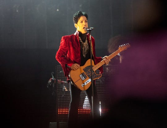 Prince performs on Aug. 9, 2011 in Budapest, Hungary.
