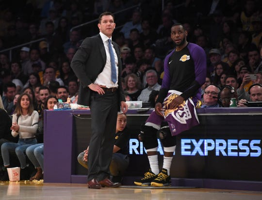 Lakers coach Luke Walton, who many thought would be fired after this season, may remain next year.
