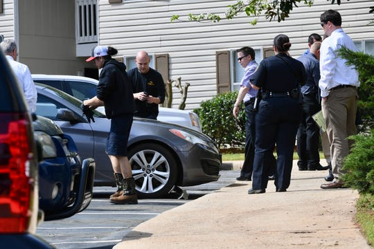 The Anderson Police Department is investigating a death at the Anderson Crossing Apartment complex.