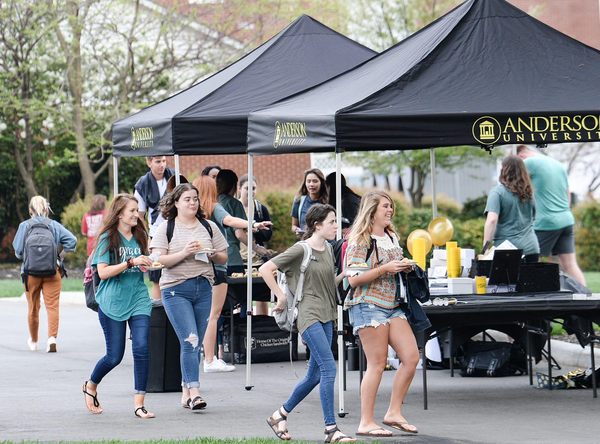 A Day to Give at Anderson University, a 24-hour fundraising drive meant to give people from the school a chance to participate in events on campus to recognize the past, present, and future.