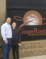 GingeRootz' owners Dale Chu and Mylee Xiong.