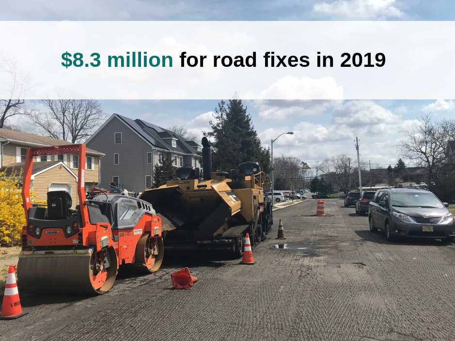 Lakewood Township expects to spend $8.3 million on road and drainage repairs in 2019.