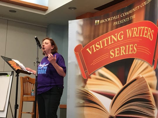 Debbie Mura discusses 'Stronger Than the Storm' at Brookdale Community College's Visiting Writers Series