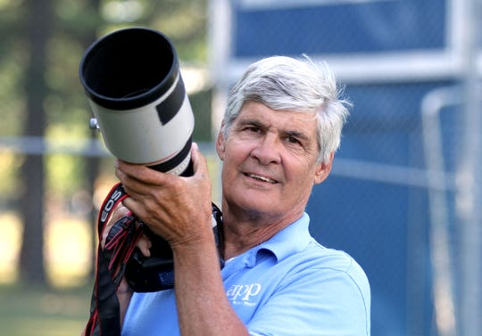 Asbury Park Press staff photographer Peter Ackerman shown in Lakewood Friday, August 7, 2015.