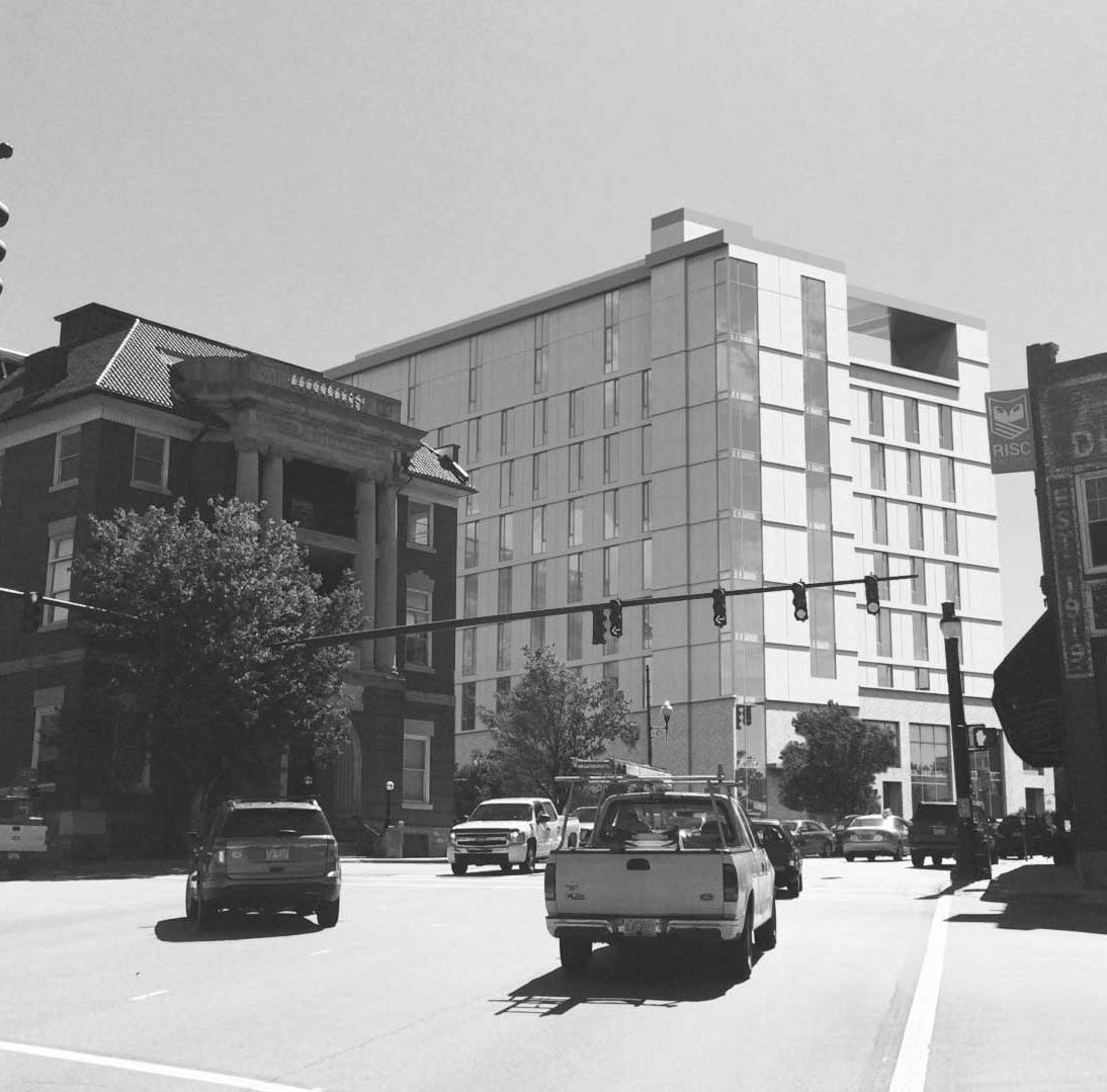 Mixed-use development with 150 hotel rooms, condos and flair for art proposed in Asheville