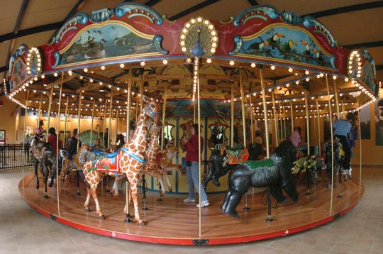 The Binda Conservation Carousel at Binder Park Zoo opened in 2007.
