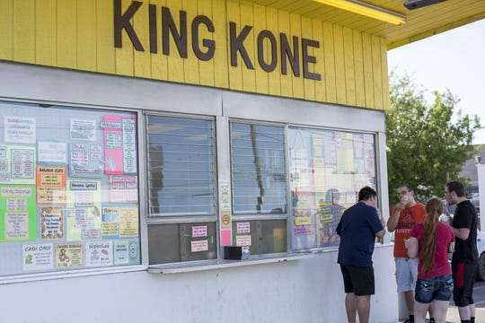 King Kone is located at 1315 College Avenue in Elmira.