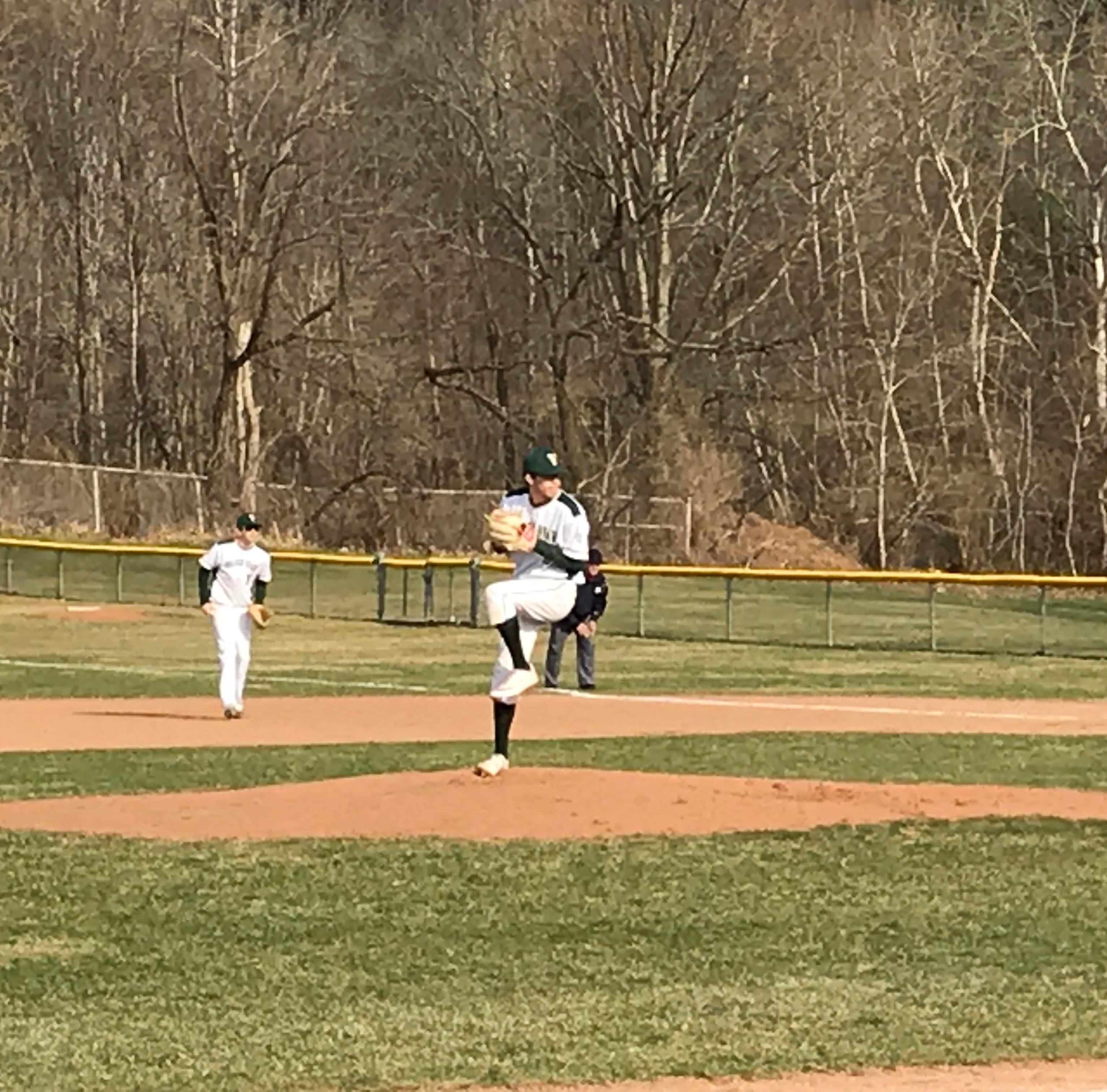 H.S. Baseball: Taborne pitches Vestal past M-E