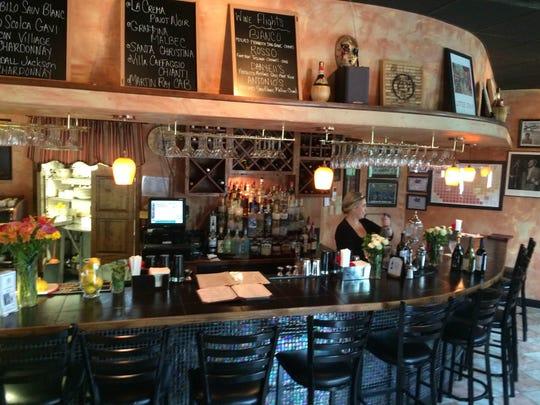 The interior of Antonio's Bar and Trattoria, pictured in 2015.