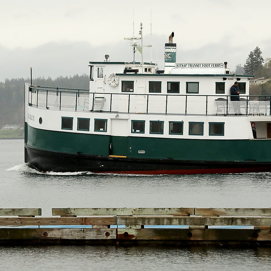 Kitsap Transit's Carlisle ll ferry to be out of service several months this summer