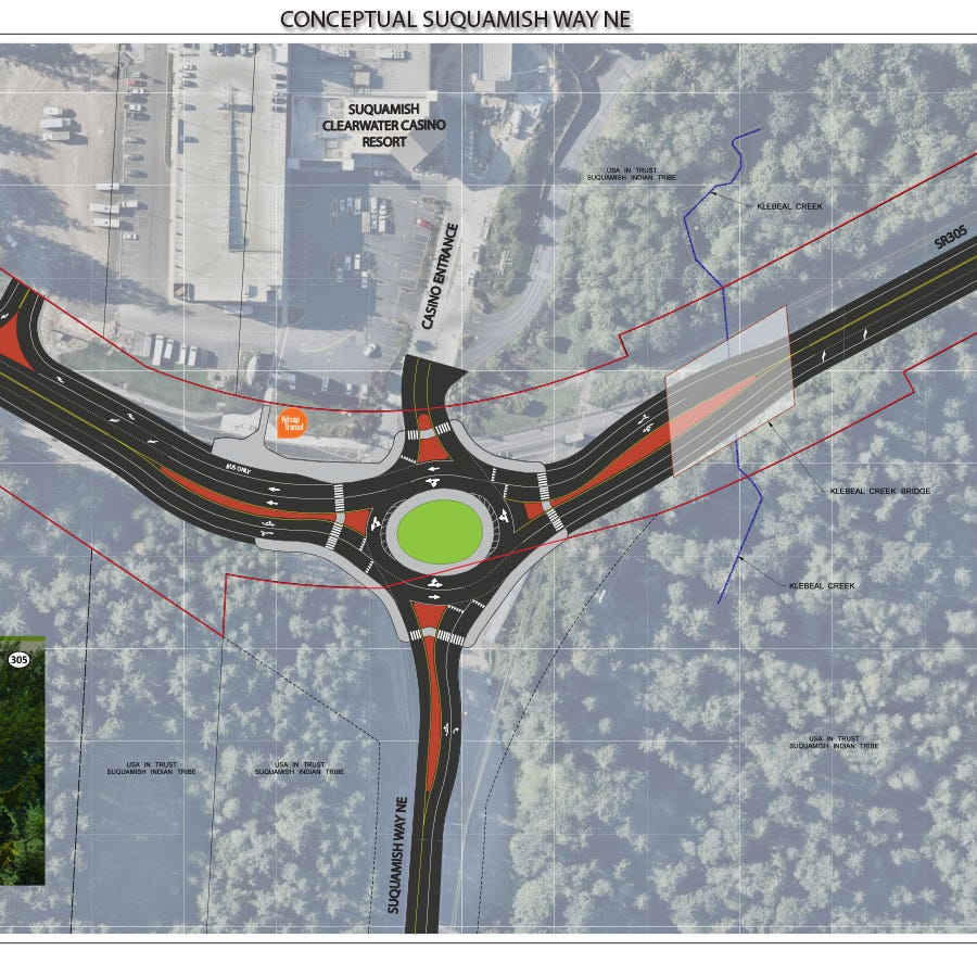 Suquamish Way roundabout considered in Highway 305 improvements package
