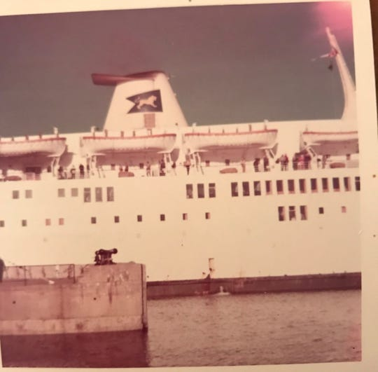 Family photos in an album found in a Melbourne, Florida, parking lot in 2011 included shots taken on a Prince of Fundy cruise. The vessel traveled between Portland, Maine, and Nova Scotia, between 1970 and 1976.