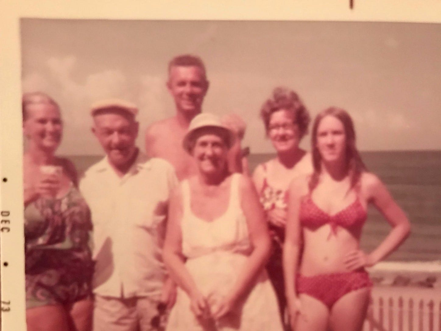 A family vacation in December 1973: But who are the people in this picture? And how did the photo album this picture was in wind up in a Melbourne, Florida, parking lot in 2011?