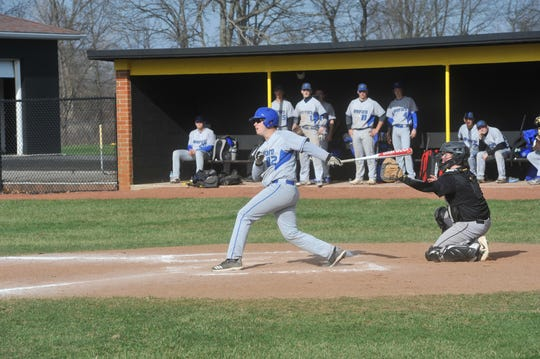 Sophomore Zach Harer was one of four promising second-year players to earn letters for the Royals.
