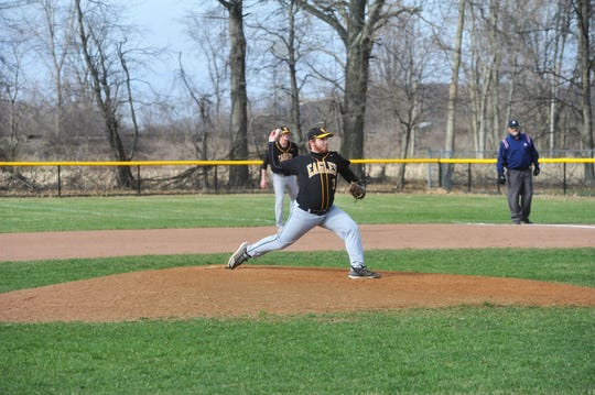 Junior Drayton Burkhart was one of the best pitchers in the area last year.