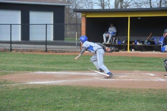 Josh Crall has been on Wynford's varsity roster all four years of high school.